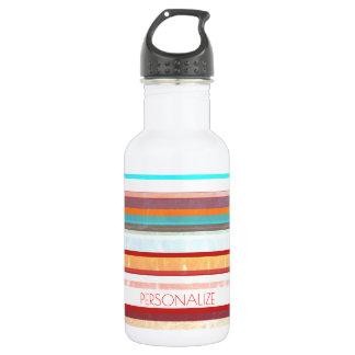 Personalized Stripes 532 Ml Water Bottle