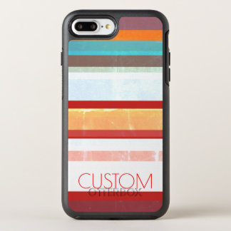 Personalized Stripes OtterBox Symmetry iPhone 8 Plus/7 Plus Case