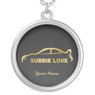 Personalized Subbie Love STI Necklace