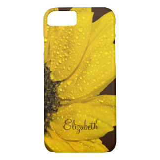 Personalized Sunflower Floral iPhone 8/7 Case