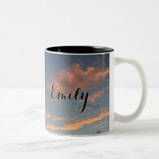 Personalized Sunrise/Sunset Mug