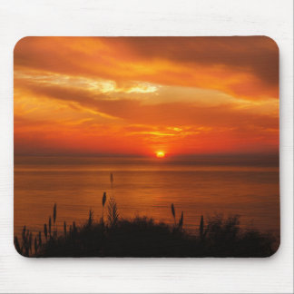 Personalized Sunset Beach Mouse Pad