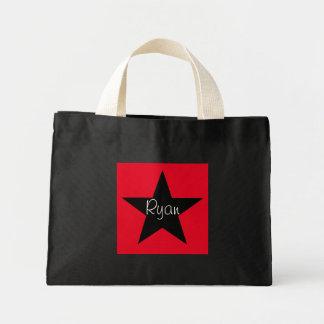 Personalized Super Star Small Tote Mini Tote Bag
