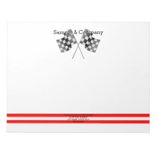 Personalized Supercharged Performance Party Notepads