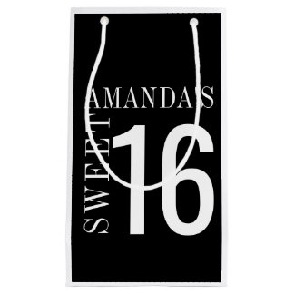Personalized Sweet 16 Favor Bag