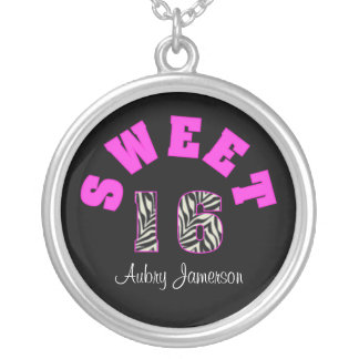 Personalized Sweet 16 Necklace