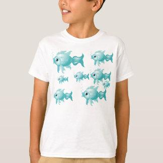 Personalized Swimming Fish T-Shirt