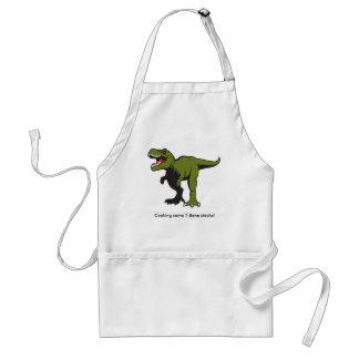 Personalized T-Rex Apron