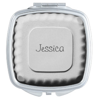 Personalized - Take Out Container - Funny Cool Compact Mirror