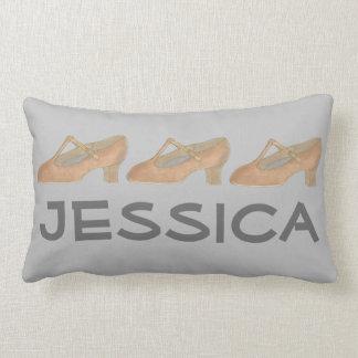 Personalized Tan Character Dance Shoe Pillow