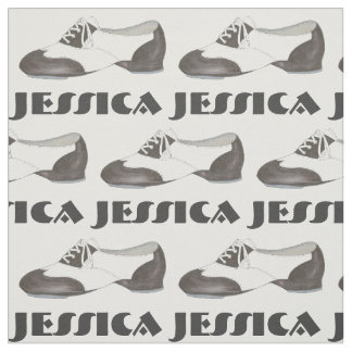 Personalized Tap Shoe Dance Shoes Dancer Fabric