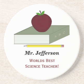 Personalized Teacher Coasters