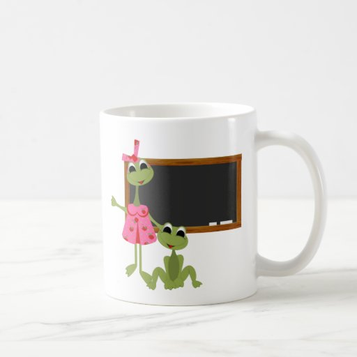 Personalized Teacher Coffee Mug-Chalkboard