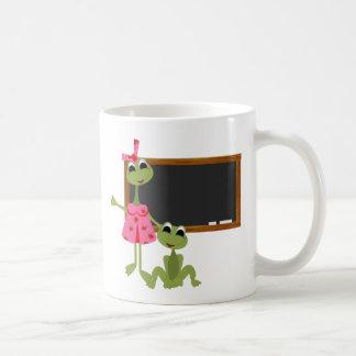 Personalized Teacher Coffee Mug-Chalkboard Basic White Mug