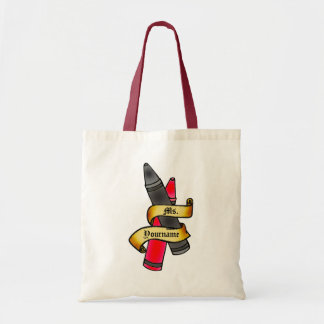 Personalized Teacher Crayon Bag