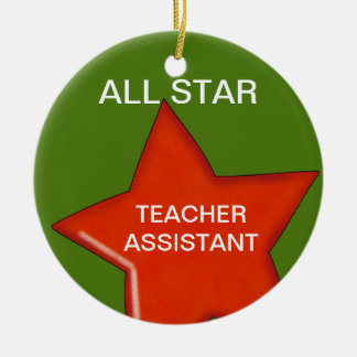 Personalized Teacher's Assistant Ornament