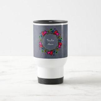 Personalized Teachers Gift Add name Travel Mug
