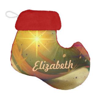 Personalized Teardrop Shaped Christmas Ornament Elf Christmas Stocking