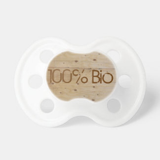 Personalized teat 100% Organic Baby Pacifiers