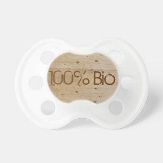 Personalized teat 100% Organic Dummy