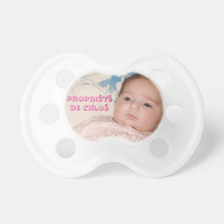 Personalized teat - Girl - 0-6 month Pacifier