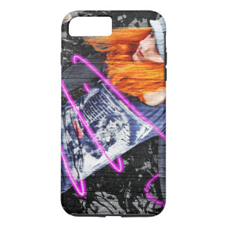 Personalized Teenager Fun Cool Skateboard Grunge iPhone 7 Plus Case