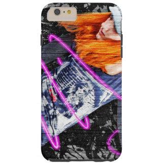 Personalized Teenager Fun Cool Skateboard Grunge Tough iPhone 6 Plus Case