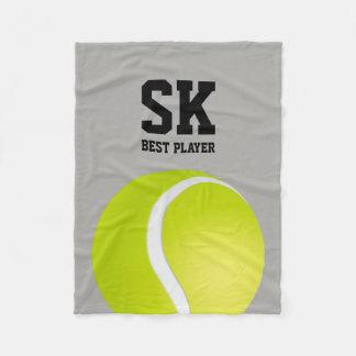Personalized | Tennis Best Player Fleece Blanket
