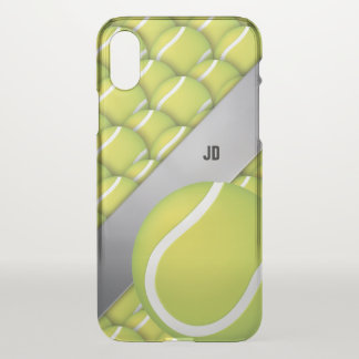 Personalized Tennis Pattern | Sport Gifts iPhone X Case