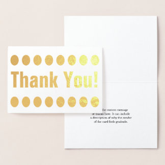 """Personalized """"Thank You!"""" Card"""