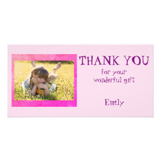 Personalized Thank you Photo Card