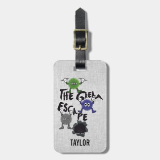 Personalized The Escape Character Luggage Tag