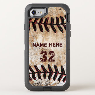 Personalized Tough Otterbox Baseball Phone Cases