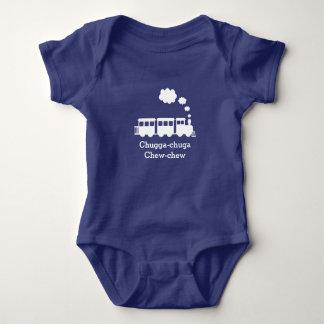 Personalized Train Baby Bodysuit