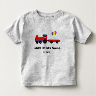 Personalized Train Birthday T-Shirt