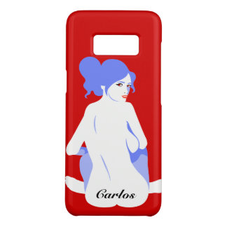 """Personalized """"Tramp Stamp"""" Samsung Galaxy S8 Case"""