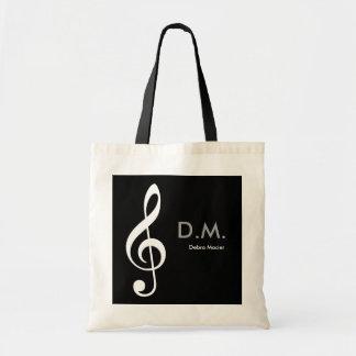 personalized treble clef music idea