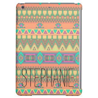 Personalized Trendy Colorful Aztec Pattern Tribal