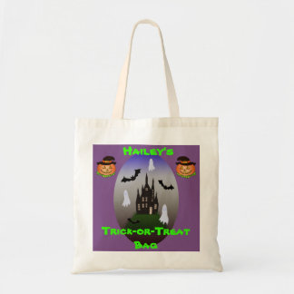 "Personalized ""Trick or Treat"" candy bag"