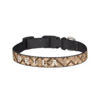 Personalized Truffle Pet Collar