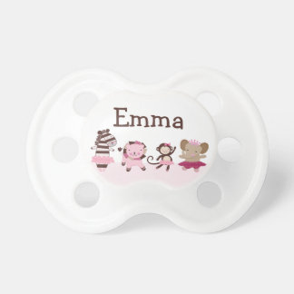 """Personalized """"Tutu Cute/Ballet Animals"""" Pacifier"""