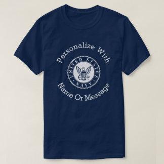 Personalized U.S. Navy Emblem Tshirt