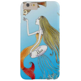 Personalized under the sea beautiful mermaid barely there iPhone 6 plus case