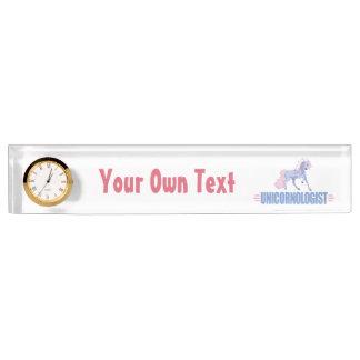Personalized Unicorn Nameplate