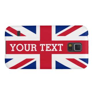 Personalized Union Jack Flag Cases For Galaxy S5