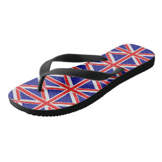 Personalized Union Jack Flag Design Thongs