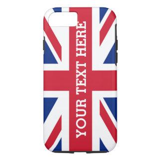 Personalized Union Jack Flag iPhone 7 Case
