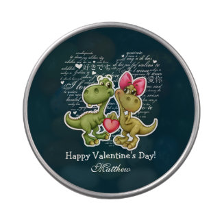 Personalized Valentine's Day Candy Tins