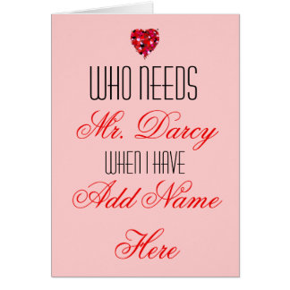 Personalized Valentine's Day Card for him Popular