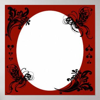 Personalized Valentine's Frame Print